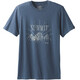 Prana M's Keystone Tee Denim Heather